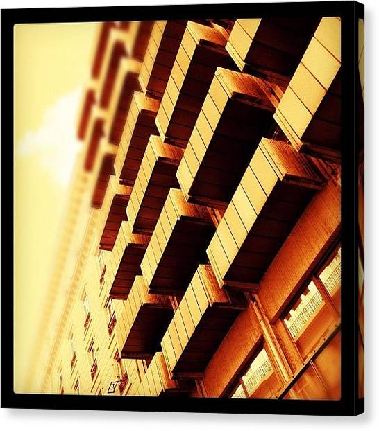 Athens Canvas Print - #gold #golden #light #iphoneography by Vassilis Valimitis