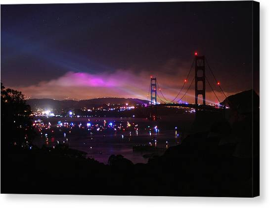 Golden Gate 75th Anniversary 1 Canvas Print