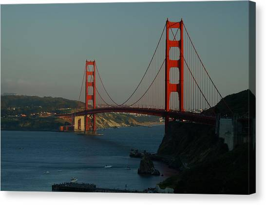 Golden Gate At 75 Canvas Print
