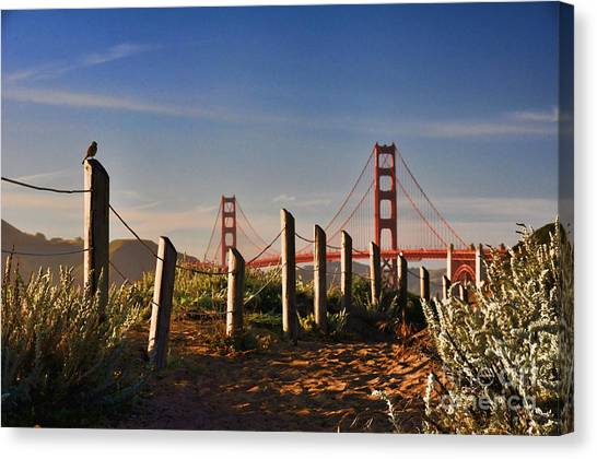 Golden Gate Bridge - 2 Canvas Print