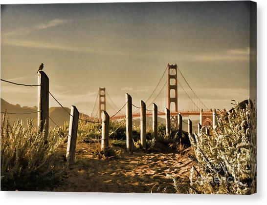 Golden Gate Bridge - 3 Canvas Print