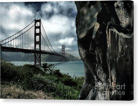 Golden Gate Bridge - 4 Canvas Print