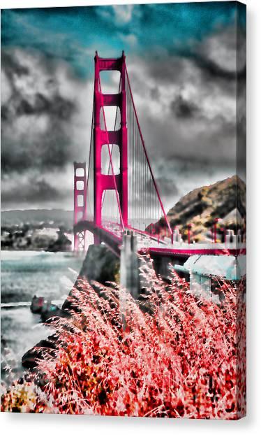 Golden Gate Bridge - 5 Canvas Print