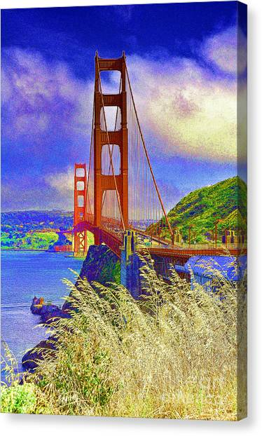 Golden Gate Bridge - 6 Canvas Print