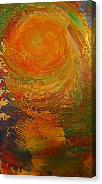 Golden Glow Canvas Print by Gloria Warren