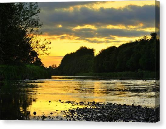 Golden Pond Canvas Print