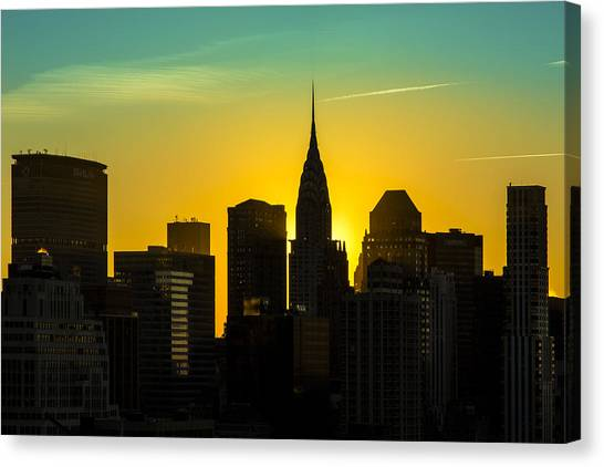 New York Skyline Silhouette Canvas Prints (Page #15 of 31) | Fine ...