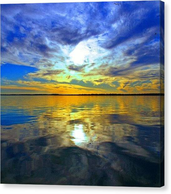 Sunset Canvas Print - Golden Sunset IIi by James Granberry