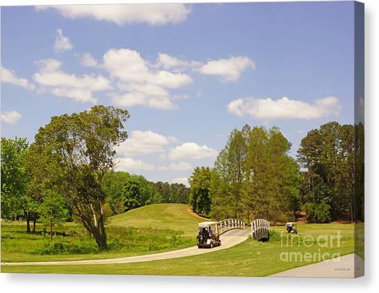 Golf At Calloway Gardens Canvas Print