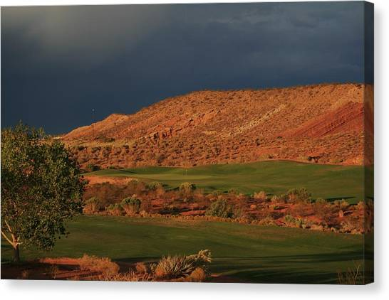 Golfers  Dream Canvas Print