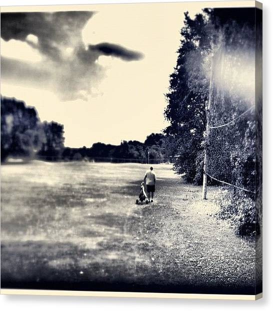 Golf Canvas Print - Golfing by Thomas MacEwen
