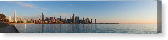 Good Morning Chicago Canvas Print