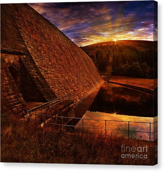 Peak District Canvas Print - Good Morning Derwent by Nigel Hatton