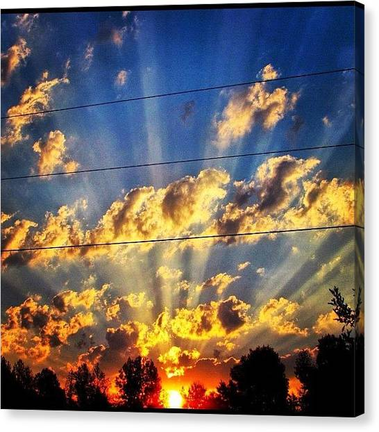 Arkansas Canvas Print - Good Morning Ig Family!! Welcome To by Roger Snook