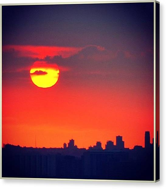 Ontario Canvas Print - #good #morning #instagramers #early #am by Christinaashley Huynh