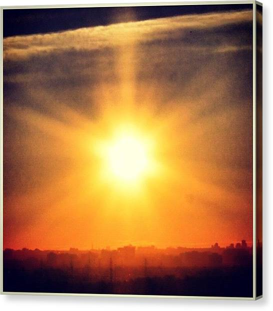 Ontario Canvas Print - #good #morning #instagramers #new by Christinaashley Huynh