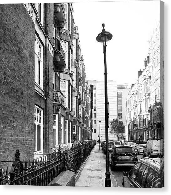 England Canvas Print - Good Morning #london by Abdelrahman Alawwad
