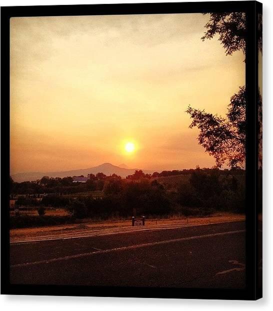 Sunrise Horizon Canvas Print - Good Morning Lord by Lisa Boylan