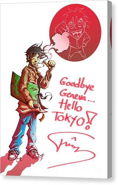 Goodbye Canvas Print by Tuan HollaBack