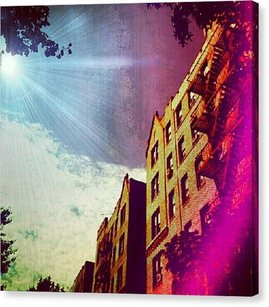 Installation Art Canvas Print - #goodnight #nyc Last For The #night by Radiofreebronx Rox
