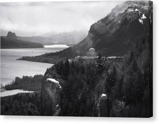 Gorge Winter Canvas Print