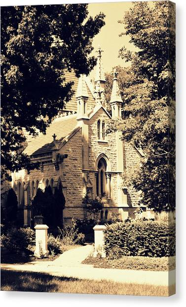 Gothic Chapel Canvas Print
