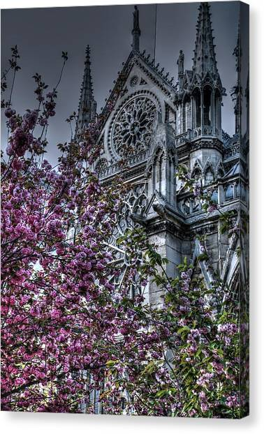 Gothic Paris Canvas Print