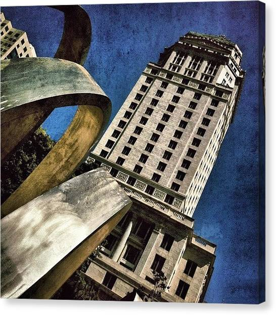 Florida Canvas Print - Government Center by Joel Lopez
