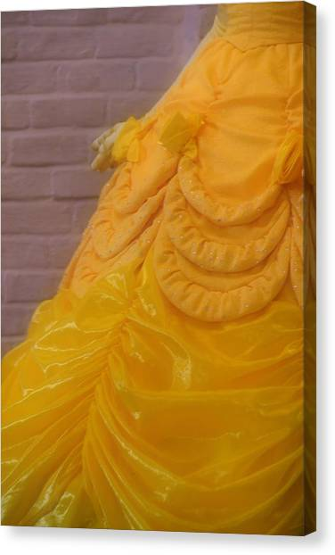 Gown Of A Princess Canvas Print