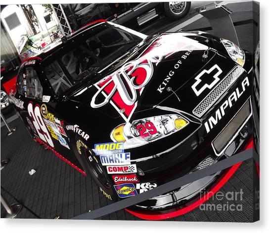 Richard Childress Canvas Print - Grab Some Buds by Chad Thompson