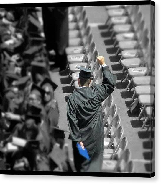 College Canvas Print - Graduation  by Kandace Watts