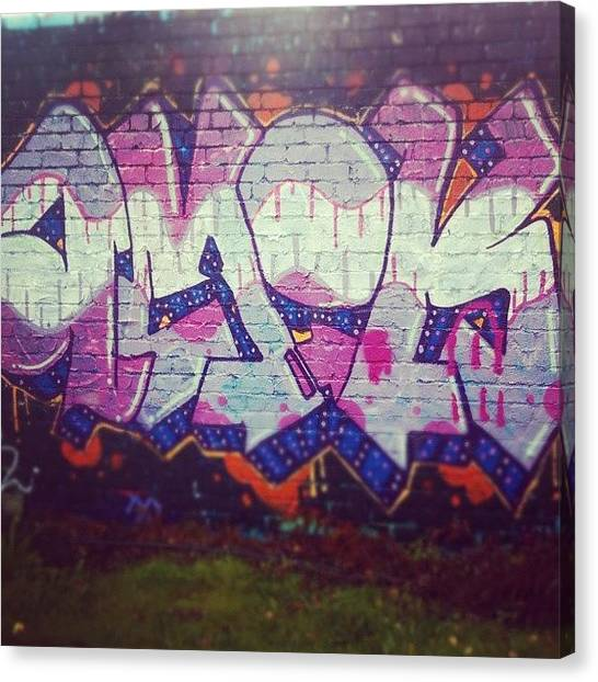 Mice Canvas Print - Graffiti #cardiff #graffiti #art by Gareth Thompson