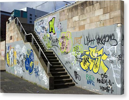 Graffiti Canvas Print by Mark Williamson