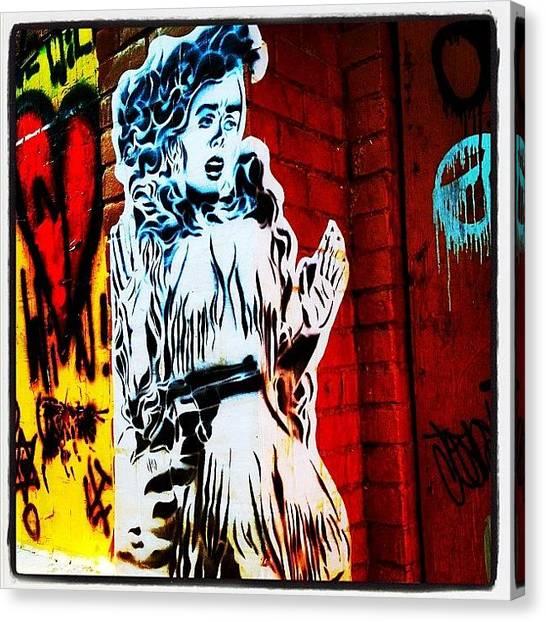 Guns Canvas Print - #graffiti #phoenix #arizona #streetart by CactusPete AZ