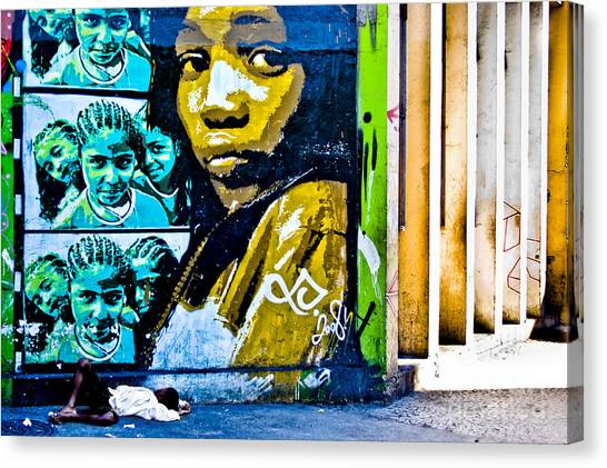 Graffiti Canvas Print by Stefano  Figalo