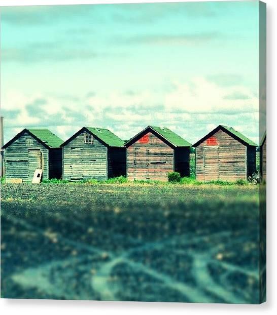 Saskatchewan Canvas Print - #grainbins #rural #melville by Michael Squier