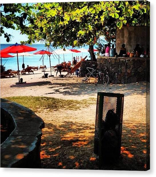 Environment Canvas Print - Grand Bay Beach by Fotocrat Atelier