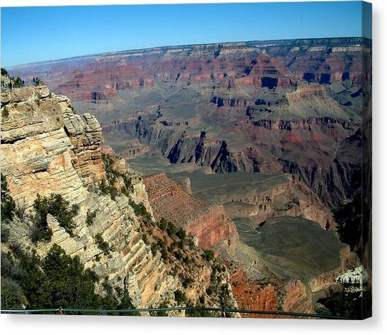 Grand Canyon Canvas Print by Dottie Gillespie