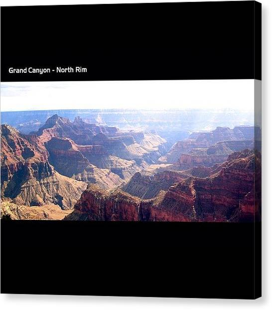 Grand Canyon Canvas Print - Grand Canyon North Rim by Steve Collins