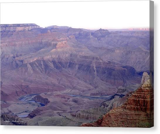 Grand Canyon Pastiche Canvas Print