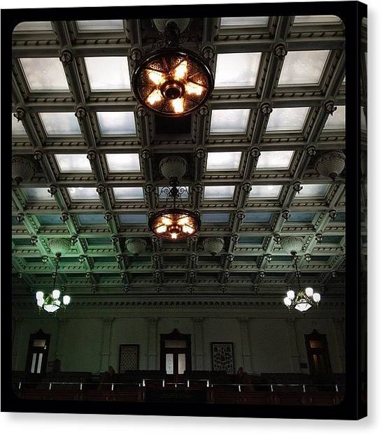 Austin Canvas Print - Grand Ceiling by Natasha Marco