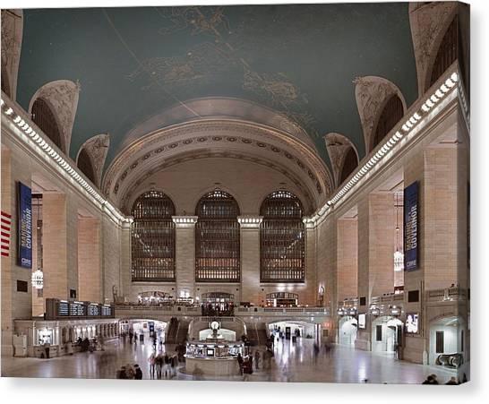Grand Central Station The Main Canvas Print by Everett