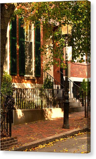 Grand Residence Canvas Print