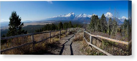 Teton Canvas Print - Grand Teton National Park by Twenty Two North Photography