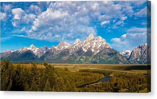 Grand Teton Vista Canvas Print