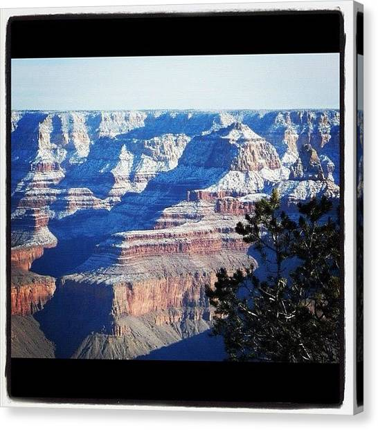 Grand Canyon Canvas Print - Grand Winter by Gary Krejca