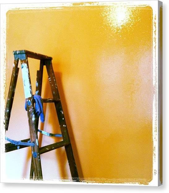 Grandpa Canvas Print - Grandfather's Ladder by Soleil Fox Studio