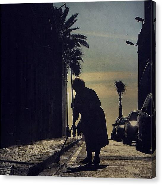 Barcelona Canvas Print - Grandma, I Close My Eyes And Wish To Be by Joel Lopez