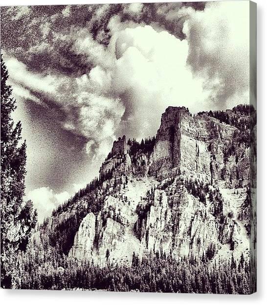 Wyoming Canvas Print - Granite Canyon by Lisa King