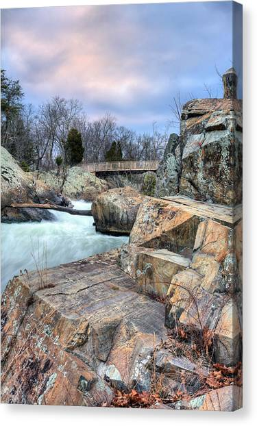 Granite Canvas Print by JC Findley